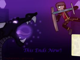 Minecraft Story Mode : Battle of the Ender Dragon by TheMaroonLightning