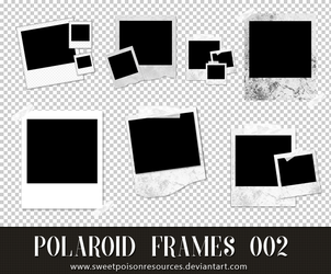 Polaroid Frames - PNG 002 by sweetpoisonresources