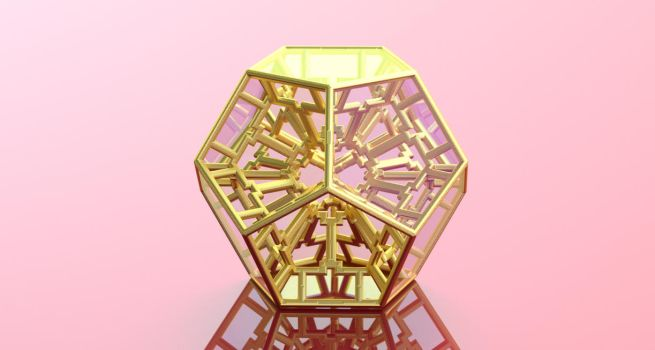 Dodeca FRACTAL 3D Print Model by nic022