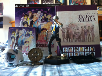 Tales of Xillia 2 Collector's Edition by Letdragon