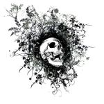 Skull Abstract by 3cookec