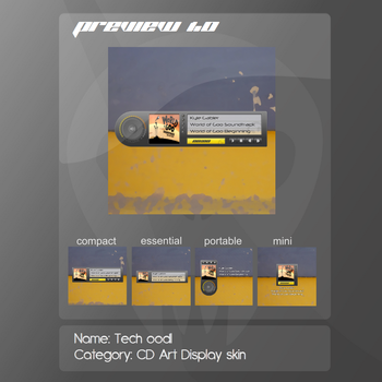 Tech oodl CD Art Display skin by 7cimi-19ceh