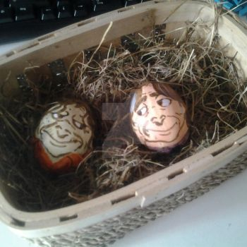 Rumple eggs in the basket XD by Otto-Chrissi