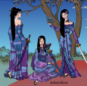 Sassy Dragon - Geisha Fashion Girl forms by SassyDragon18