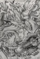 Pencil on Paper by ASCOE