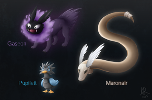 Pokemon Fusion by Norwlin