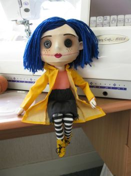 better coraline doll photo by SewLolita
