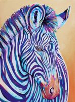 Purple Stripes by Eve-I