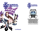 SCANDAL MANGA ACTION Cover and BackCover by LawDelgado