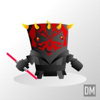 SW Darth Maul by DanielMead