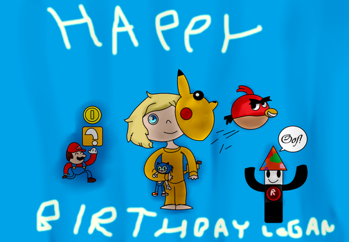 Happy BirthDay Logan by Tombliboos4life