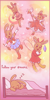 Follow Your Dreams By Lilac Hime (Sarah) by DanielMania123