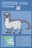 Bluewaters Ref Sheet by Uki-U
