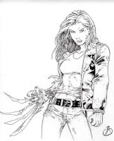 Witchblade by BrokenRapture781