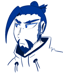 Hanzo by flame-heart85