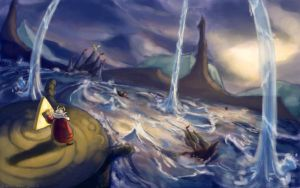 The great flood by Gabriela-Birchal
