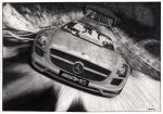 Mercedes SLS_FINISHED by Laggtastic