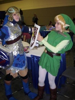 OTAKON 2009: Link got OWNed by InkkyFikky