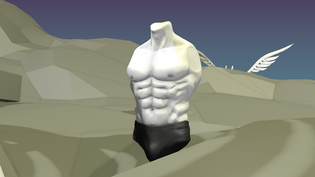 Day 16 - Torso by wingsyo