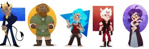 Gift: Chibis Batch 1 by Bubba-Smith