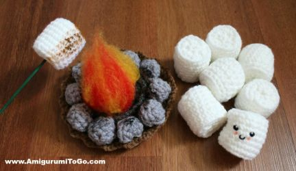 Roasting Marshmallow and Fire Pit by sojala