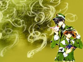 Clamp boys Wallpaper by LakeLady