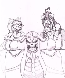 Overlord Silly Sketch by CrazyCowProductions