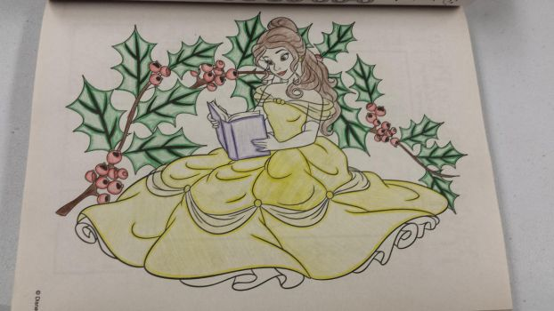 Story Time With Belle by tapgirl301