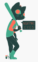 NIGHTMARE EYES by YoKnight
