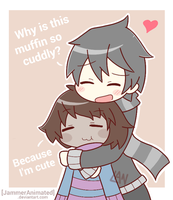 [GIFT] Muffin Cuddle by JammerAnimated