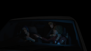Road trip in the dark by AwkwardMassEffectFan