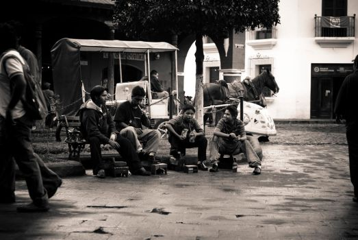 Shoeshine Guild. by SantiBilly
