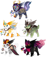 RPG Cinidae Batch [Closed] by Arccyfox