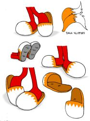 Lisa's Tails Slippers by germanname