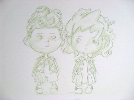 Widget and Poppet by reves-a-colorier