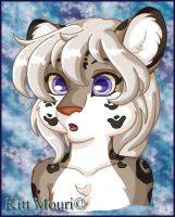 Snow Leopard Full Color by KittMouri