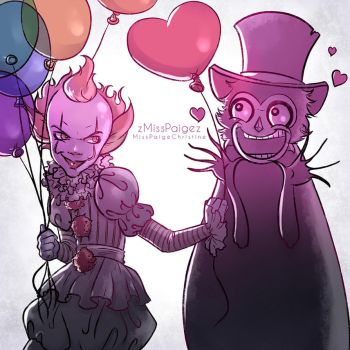 Pennywise x Babadook by MissPaigeChristine