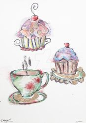 Cup Cakes for Design 1 by poisonous-tears