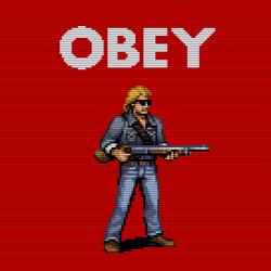 Obey Roddy Piper by jnkboy