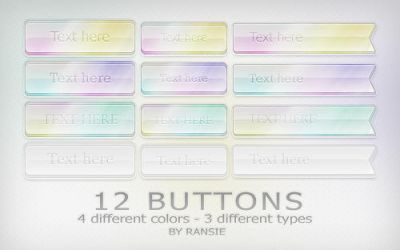 Web Buttons 03 by Ransie3