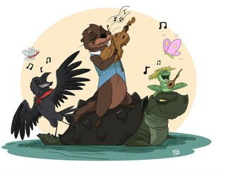 Bayou Music by StrixMoonwing