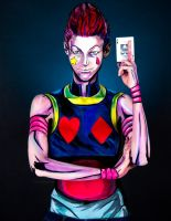 Hisoka Bodypaint by KayPikeFashion