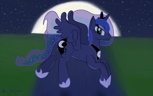 A Silent Night Flight by TheDarkSatanicorn