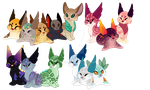 Cinidae Event Breeding Cluster: (CLOSED) by Arccyfox