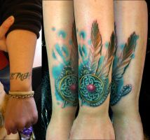 Kelly's Celtic Cover Up by Sirius-Tattoo