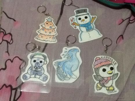 Christmas keychains by Edimay