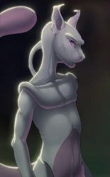 Mewtwo by hibbary