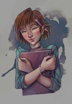 Sketchbook Girl by Nyamh