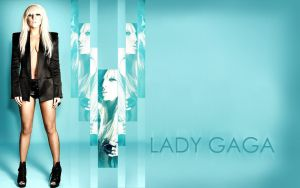 Lady GaGa Wallpaper III by ConnieChan