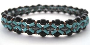 Sierra Beadwoven Bracelet by BlissWorksStudio